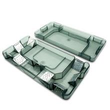 2 قطعة قابلة لإعادة الاستخدام فعالة الصرصور فخ صندوق قابلة لإعادة الاستخدام الصرصور الماسك الألماني الصرصور القاتل الطعم الفخاخ المبيدات للمطبخ