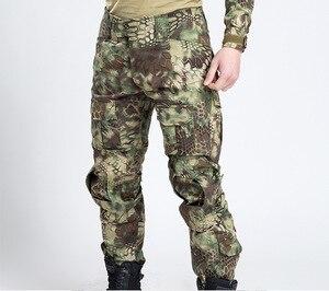 Image 3 - Pantalones de estilo militar táctico para hombre, pantalón de camuflaje para caza, pantalón urbano para hombre, traje de pitón de tren Ripstop, moda para hombre