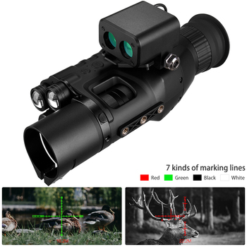 Night Vision Scope Monocular W/ Wifi APP 200M Range NV Scope 940nm IR Night Vision Sight Hunting Trail Camera Telescope 5x42 infrared ir night vision digital video camera monocular scope telescope for outdoor hunting camping hiking us plug