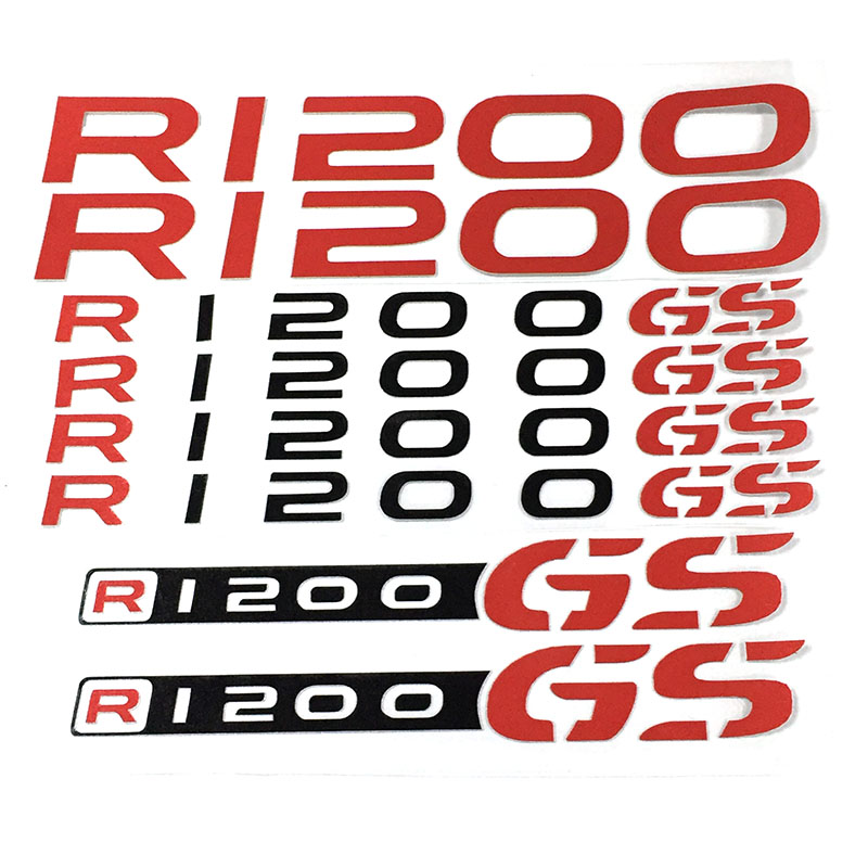 Motorcycle REFLECTIVE DECAL FAIRING decals for <font><b>BMW</b></font> R1250GS r1250 <font><b>gs</b></font> R <font><b>1200</b></font> <font><b>GS</b></font> r1200 logo decals image
