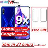 Honor 9x téléphone intelligent 6.59 pouces levage plein écran 48MP double caméras 4000mAh GPU Turbo téléphone portable
