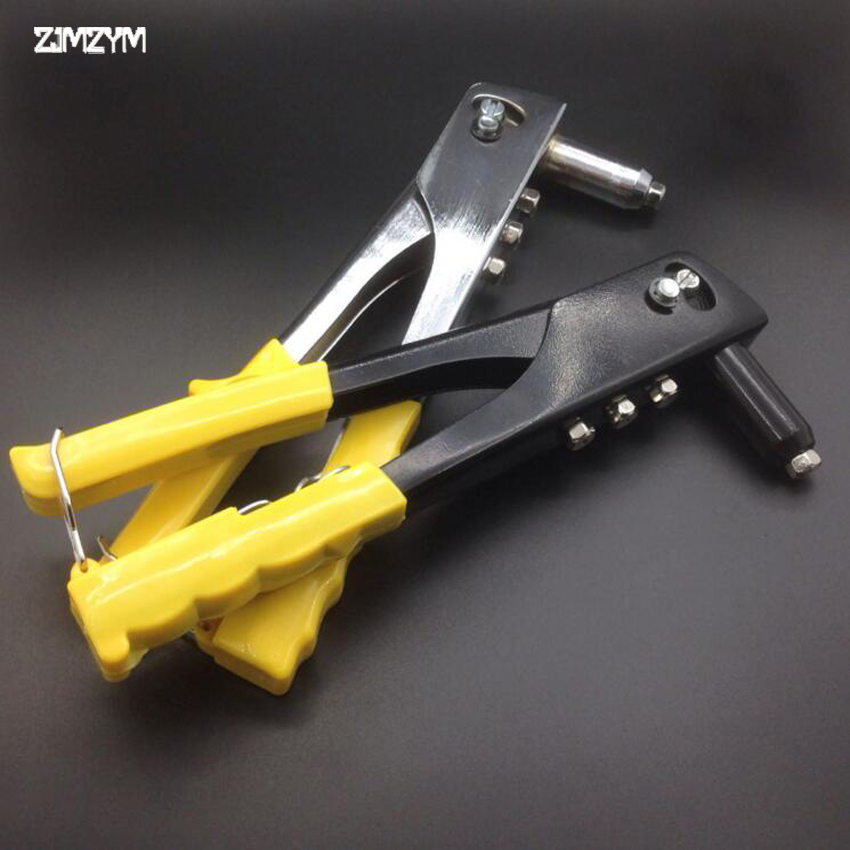 1PC High Quality New Pop Hand Riveter Gun Kit Blind Rivet Guns Hand Tool Set Gutter Repair Tool