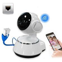 Niania elektroniczna Baby Monitor przenośne WiFi kamera IP 720P HD bezprzewodowy inteligentny aparat dla dzieci Audio wideo rekord nadzoru bezpieczeństwo w domu kamery tanie tanio ACEHE wireless Wideo i Audio NONE SD 720 P CN (pochodzenie) Brak 1280 * 720 HD CMOS APLIKACJI Telefonu komórkowego Pilot zdalnego sterowania