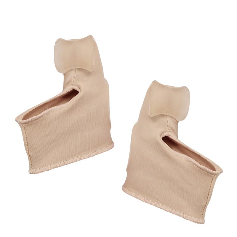 2 шт = 1 пара разделитель пальцев ног вальгусная деформация, корректор ортопедический для ног, корректор кости большого пальца, коррекционный носок для педикюра, выпрямитель