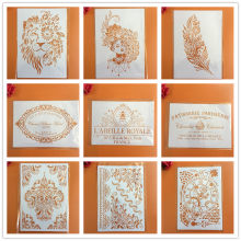 A4 29 * 21cm Mandala DIY Stencils Wall Painting Scrapbook Coloring Embossing Album Decorative Paper Card Template,wall