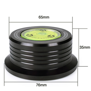 Image 3 - 3in1 LP Disc Stabilizer Turntable Metal Record Clamp For Vinyl Record Turntable Vibration Balanced