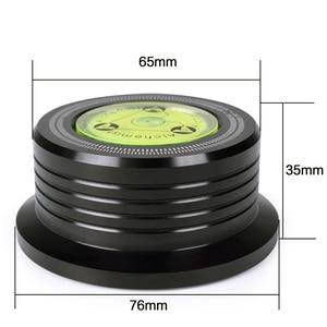 Image 3 - אלומיניום שיא משקל מהדק LP ויניל פטיפונים מתכת דיסק מייצב עבור רשומות נגן אביזרי LP דיסק משקל מייצב
