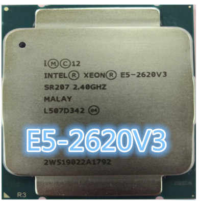 Intel E5 2620 V3 LGA 2011-3 6 core SR207 2,4 GHz 85W E5-2620V3 2620V3