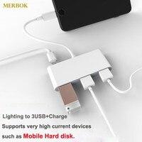 Ios13 otg adaptador para iphone 11 xr x xs max 8/7 iluminação para usb não precisa de suporte app disco rígido móvel/unidade de estado sólido ssd