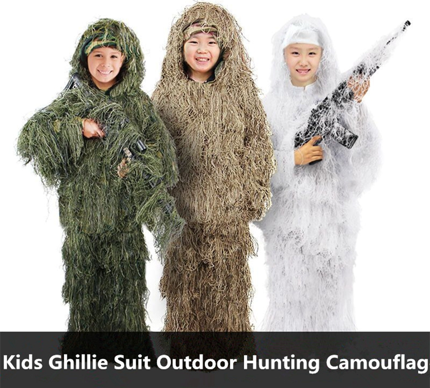 Kids Ghillie Suit All Sizes