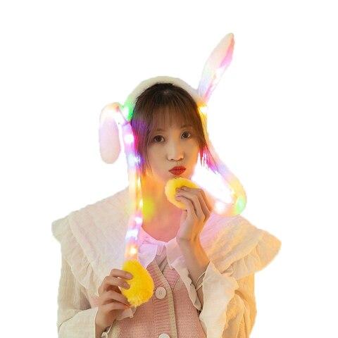 luz brilhante do coelho do luxuoso conduziu o presente de natal de incandescencia colorido dos