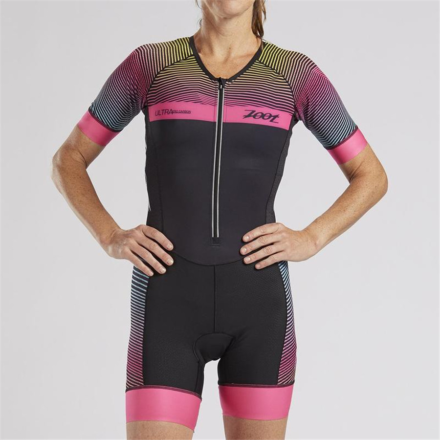 2019 ZOOT Women 39 s skinsuit sexy body cycling jersey Maillot ciclismo clothing go pro mtb jersey mujer pro cycle clothing in Cycling Sets from Sports amp Entertainment
