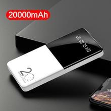 Power Bank 20000mAh 2 USB LED Display Fast Charging Battery