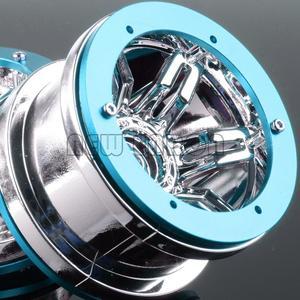 """Image 2 - ENRON 4 Uds. De llantas con abalorios de 2,2 """"para coche todoterreno D90 CC01 Axial HSP SCX10 SCX10 II YETI Traxxas TRX4"""
