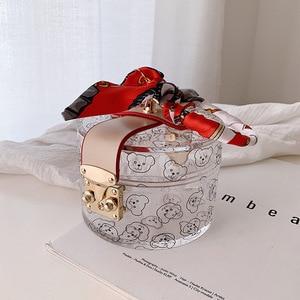 Image 5 - Bags for women 2019 bear luxury handbags women bags designer  bolso mujer sac main ladies party hand bags clutch mini evening