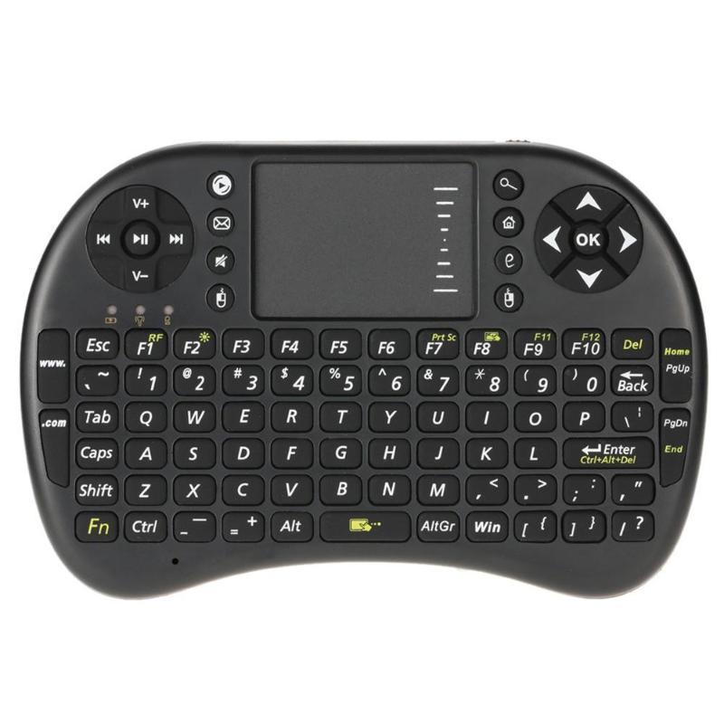 M2S 2.4GHz Mini Wireless Backlit Keyboard Remote Air Mouse With Touchpad English Plug And Play For HTPC PS3 Xbox 360
