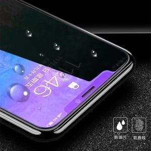 Image 3 - Chống Thủy Tinh Màu Xanh Trên Iphone 7 6S 5 5S Se 5C Đèn Tia Kính Cường Lực Dành Cho iPhone 7 8 Plus Cho Iphone X XS XR XS MAX Kính Màn Hình