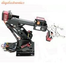 6DOF механический рычаг зажим коготь с сервоприводом MG996R программное обеспечение тестирование металлический сплав робот манипулятор для DIY механическая рука