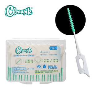 60pcs Adults Interdental Brush Clean Between Teeth Floss Pick Push-pull Toothpick Cleaning Brushes Teeth Care
