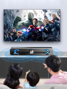Speaker Soundbar TV Bluetooth Subwoofer Wireless Wired Laptop for with And