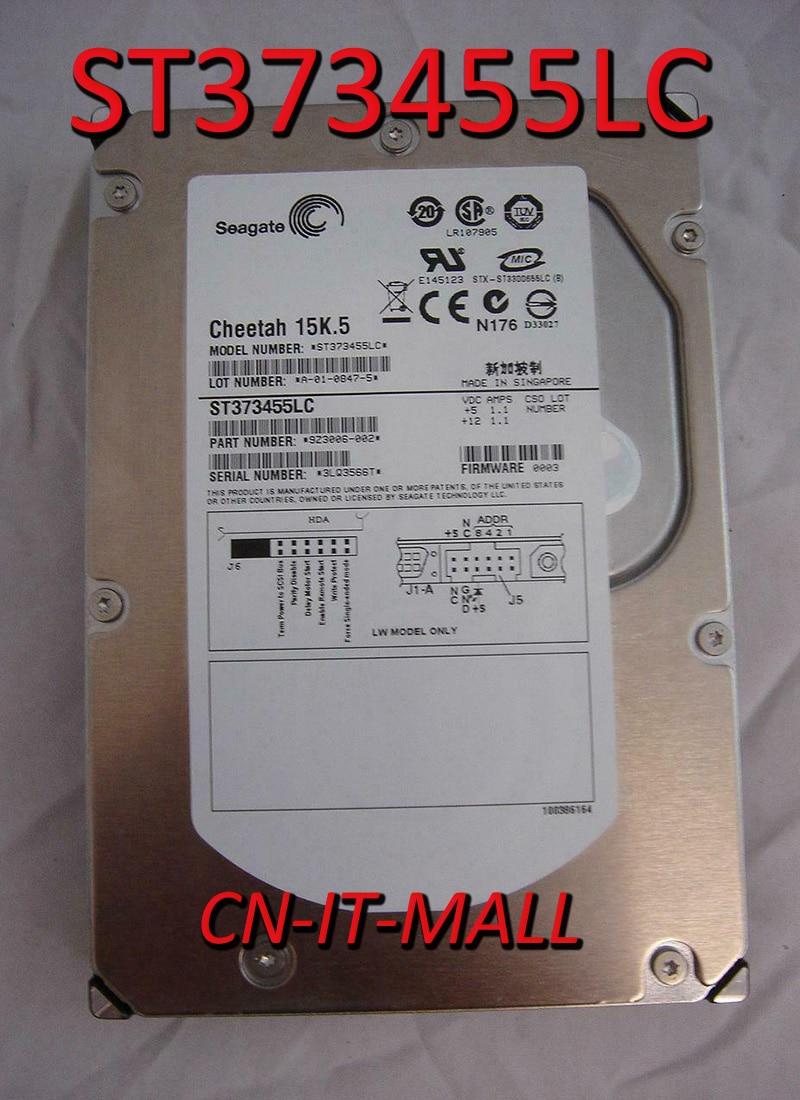 Жесткий диск Seagate Cheetah 15K.5 ST373455LC 73,4 ГБ 15000 об/мин 16 Мб кэш SCSI Ultra320 80pin 3,5 дюйма