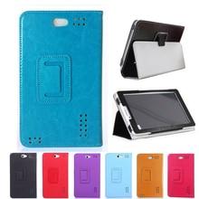 Кожаный раскладной стенд чехол Обложка для мобильного телефона Prestigio Wize 3427 3G PMT3427_3G_C pmt3427c pmt3427 pmt 3427 7 дюймов планшетный ПК