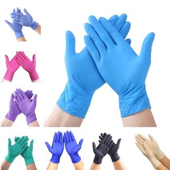Nitrylowe rękawiczki jednorazowe