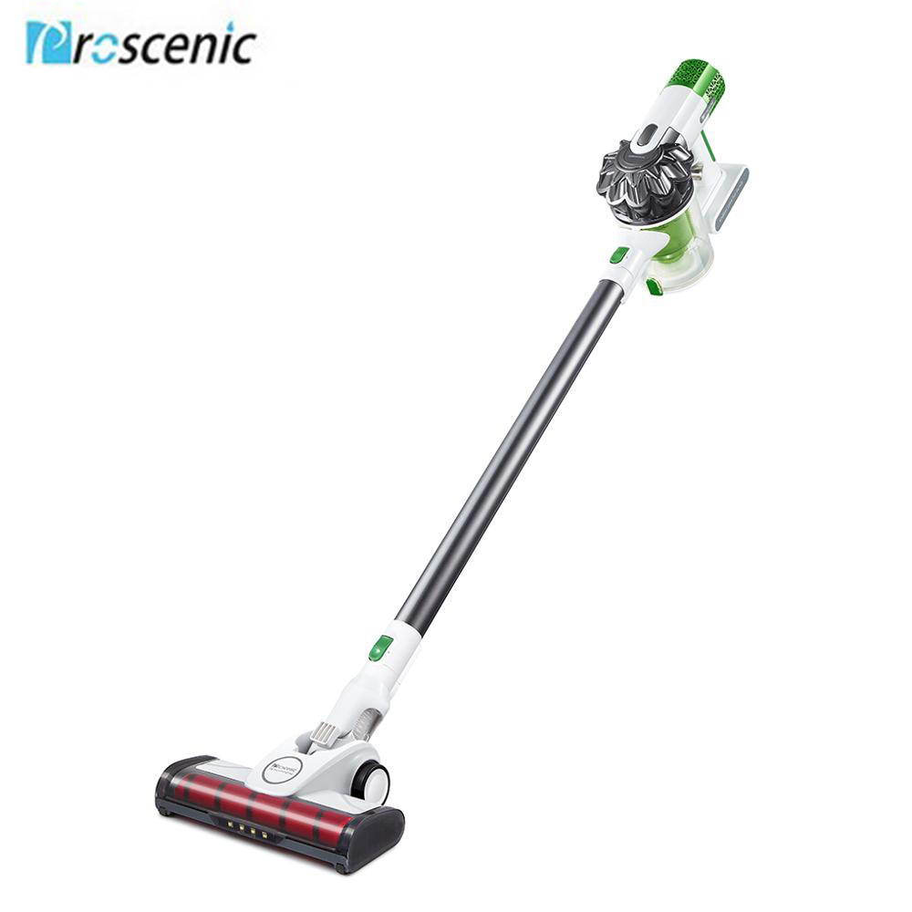 Proscenic P9 Cordless 2 In 1 Vacuum Cleaner  15000pa Powerful Suction Led Light Vacuum For Pet Hair Carpet Hard Floor