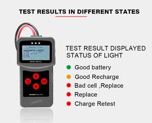 Image 4 - Lancol Mciro200Pro Für 12V Batterie Tester Diagnose Werkzeuge Für Auto Mit Digital Automobil Analyzer Tester Werkzeug Für Auto Tester