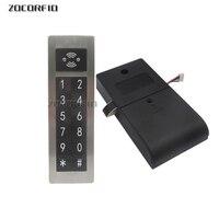 Metal 125Khz RFID&Password Keypad Number Cabinet Code Locks Intelligent Cabinet Lock Electric Lock     -