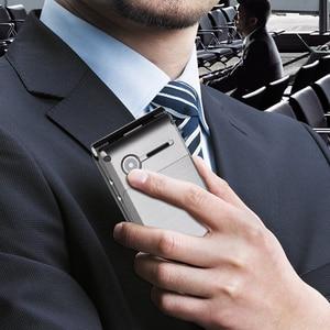 Image 5 - Uniwa x9 x28 플립 모바일 수석 전화 16800 mah gsm 큰 푸시 버튼 듀얼 sim fm 러시아어 히브리어 키보드 필기 sos 전화