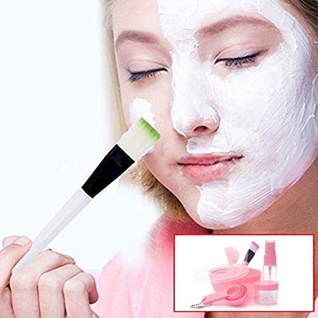 Korean Version Of The Diy Mask Bowl Face-To-Face Set Plastic Portable Beauty Tool Nine-Piece Set 3
