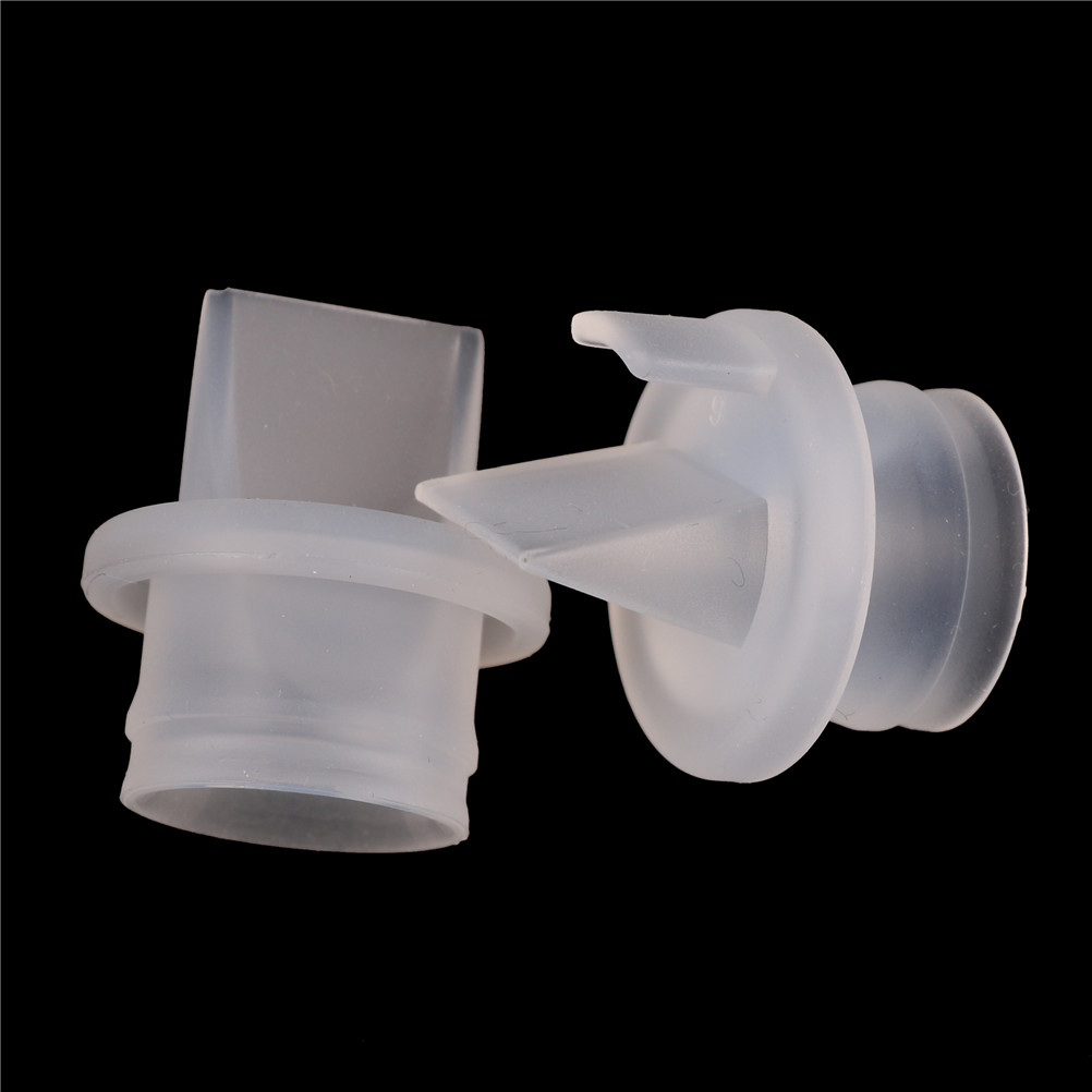 2PCS Valve Breast Pump Parts Silicone Baby Feeding Nipple Pump Accessories