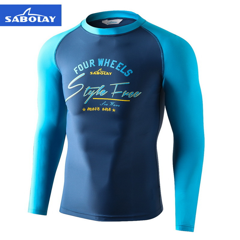 Hot Selling Europe And America Men Sun-resistant Surf Wear MEN'S Swimwear Diving Suit Ny627