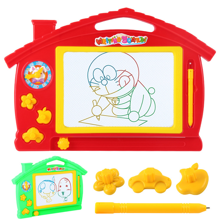 Children Color Writing Board Drawing Board Small Blackboard Drawing Board Magnetic Doodle Board Men And Women Learning Toy