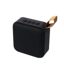 цена на Portable Bluetooth Speaker Wireless Fabric Speaker TF Card USB FM Radio Line Built-in Mic for Smart Phone Tablet Sport Speakers