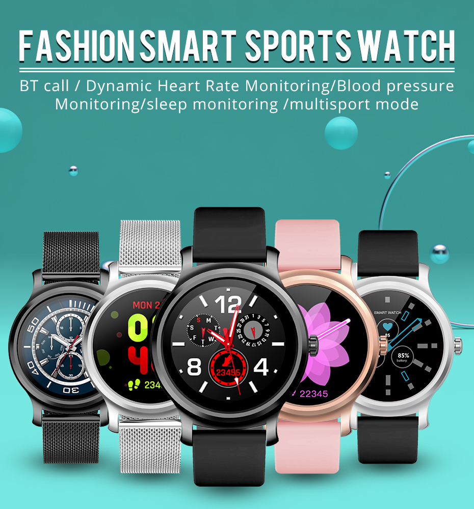 Makibes R2 Smart watch Men GPS Bluetooth Heart Rate Monitor clock Call Message Reminder Music Playe Fitness tracker smartwatch_01