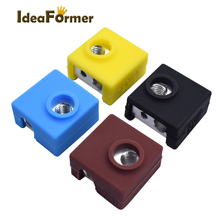 Sleeve-Heater-Protective Silicone-Sock Heat-Block Ender CR10S Hot-End for Creality 3-J-Head