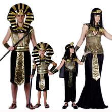 Umorden семья взрослых детей египетский фараон Клеопатра Костюм