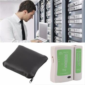 цена на Professional RJ45 RJ11 RJ12 CAT5 UTP Network LAN USB Cable Tester Detector Remote Test Tools Networking Tool