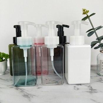 250ml/450ml Foam Pump Bottles Foaming Hair Spray Soap Pump Shampoo Dispenser Lotion Perfume Bottle Container for Cosmetics 1