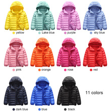 90% Duck Down Jacket Coat Baby Girls Boys Parka Kids Jacket Hood Winter Children Jacket Spring Fall Toddler Outerwear 1-12 Year 2018 new style toddler baby girls winter down coat infants kids cotton jacket outwear kids clothes children clothing 10 12 years