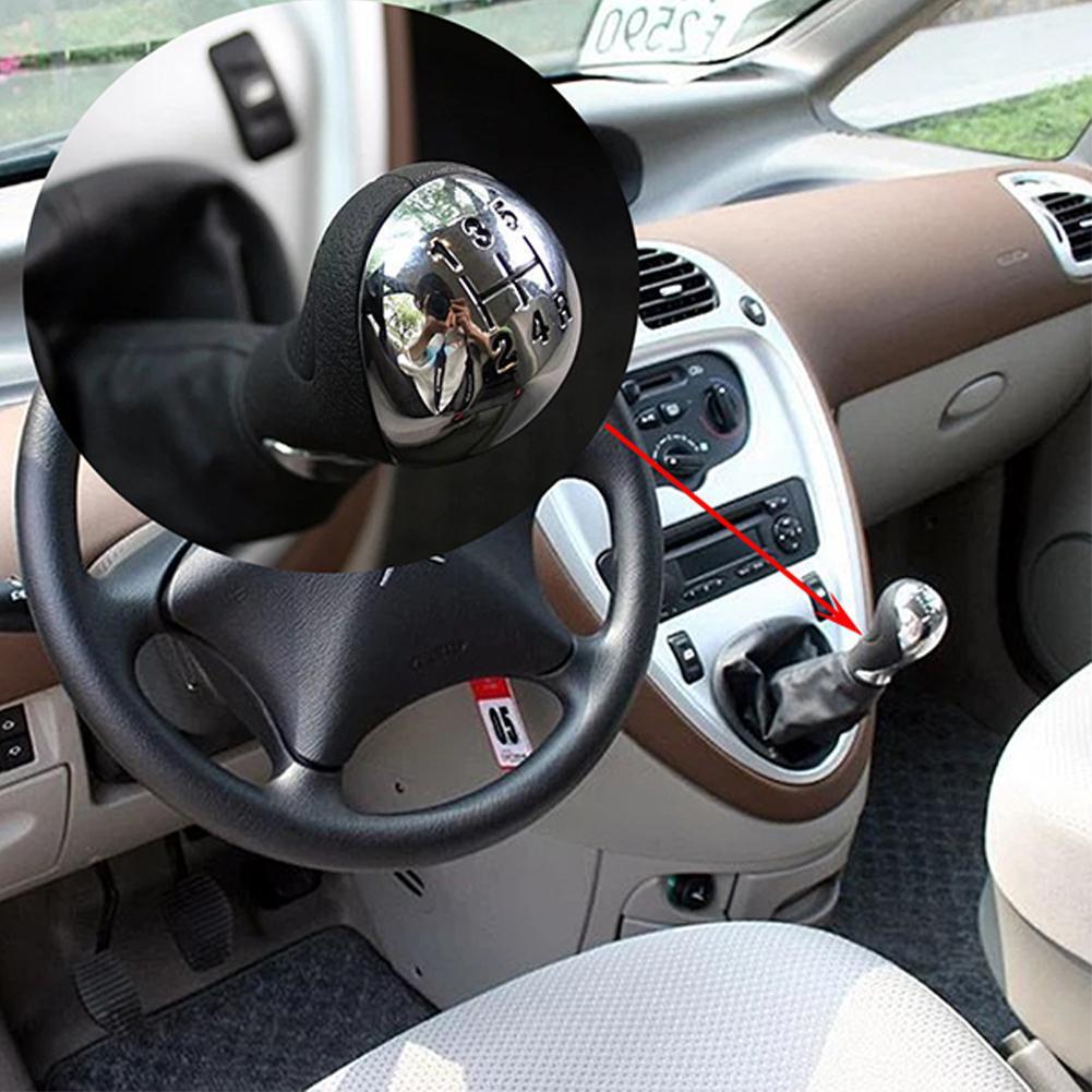 5 velocità Manuale Auto Pomello Del Cambio Per Citroen C5 2001-2008 Xsara Picasso 1999-2008 automoble accessori pomo palanca cambio