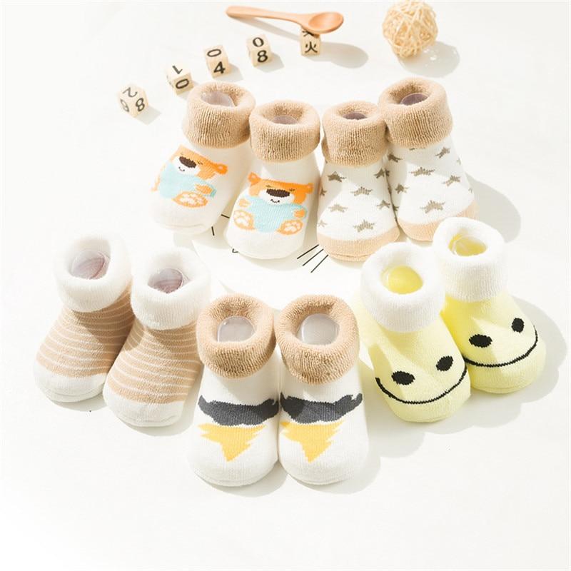 5 pares lote bonito do bebe meias 01