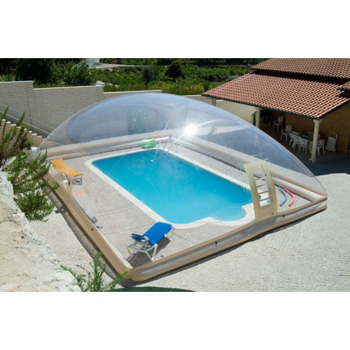 Customized Transparent Inflatable Dome Swimming Pool Cover Tent