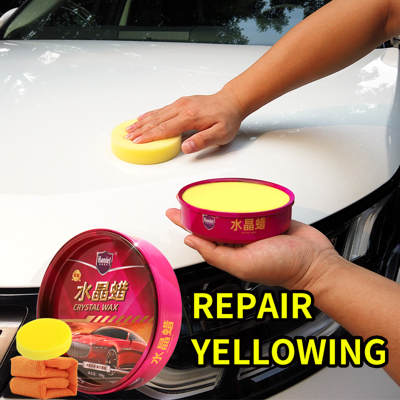 Car Polish Magic Wax Repair General Car Cleaning New Wax Decontamination Antioxidant Protection Wax Supplies Car Accessories