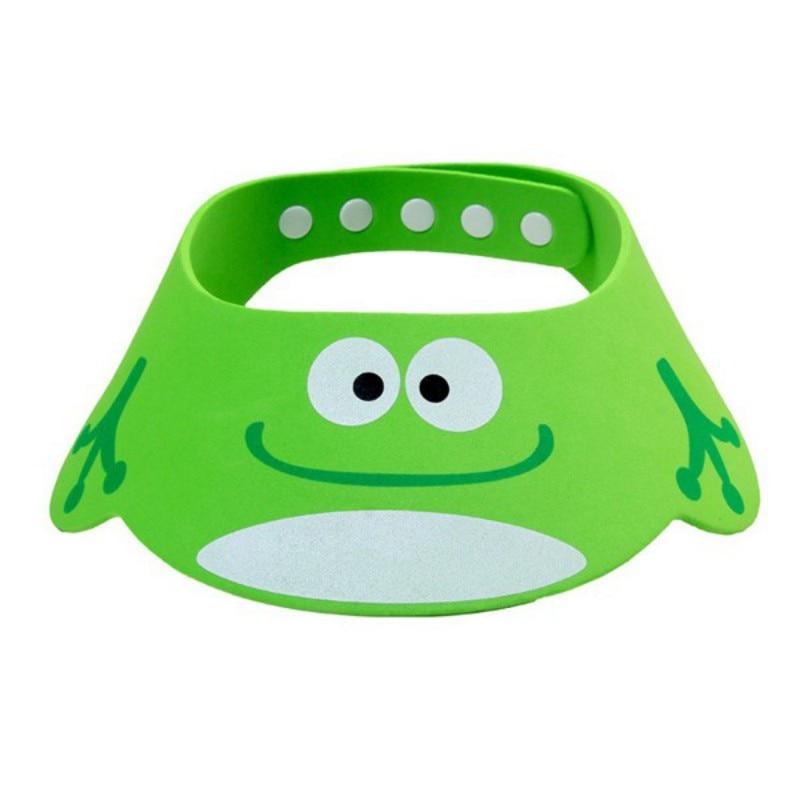 Soft Lovely Adjustable Inflant Baby Hat Toddler Kids Shampoo Bathing Shower Cap Wash Hair Shield Visor Caps For Baby Care