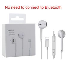 Wired Lightning Earphone With Mic Stereo Sport HiFi Headphone for iPhone 8 7 11 Plus X XS MAX XR Earphones fone de ouvido phone