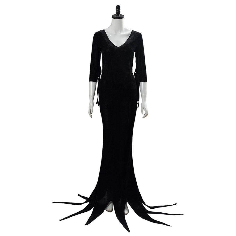 Morticia Addams Costume The Addams Cosplay Family Costume Outfit Morticia  Addams Dress Suit Uniform|Movie & TV costumes| - AliExpress
