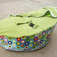 Различные шары узор зеленый горошек дискожеле детские кресло мешок, младенческие дети спящий расслабляющие кровати